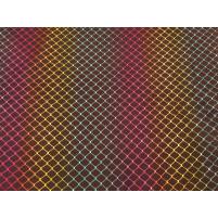 Net mønster multi på lycra