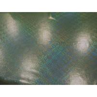 Elektrisk grøn Holografisk lycra