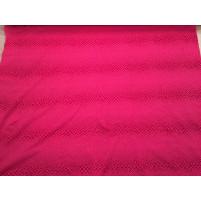 Red / pink snake on stretch net