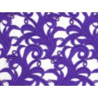 Tamara lace Purple rain