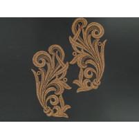 Tamara motif Bronze