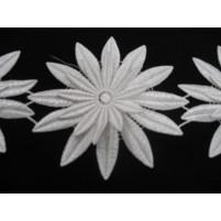 Sunflower Ribbon White