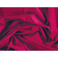 Lustre lycra Cherry red