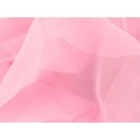 Georgette Bubblegum pink