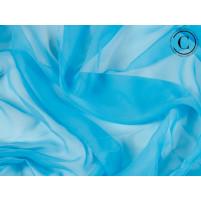 Georgette Blue Paradise