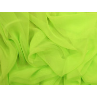Georgette Electric green