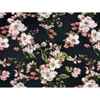 Metallic blomster print