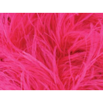 Luxury ostrich boa Electric pink