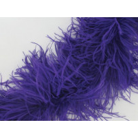 Luxury ostrich boa Purple rain