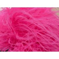 Luxury ostrich boa Pink fizz