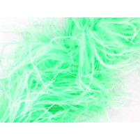 Luxury ostrich boa Spearmint