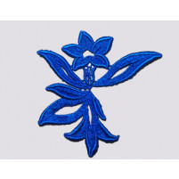 Georgina ribbon Ocean blue