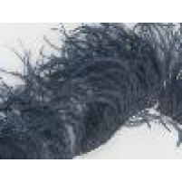 Ostrich feather fringe Hermatite