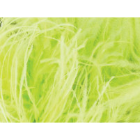 Ostrich feather fringe Lime sorbet