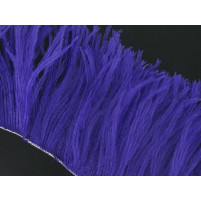 Ostrich feather fringe Purple rain
