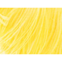 Ostrich feather fringe Sassy yellow