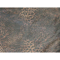Cheetah print on organza