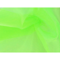 Organza Electric Green
