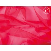 Organza Fluorescent rød