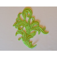 Tamara lace pistacio