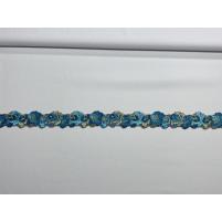 Blue zircon ribbon