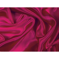 Satin chiffon Cherry red