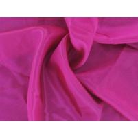Satin chiffon Fuschia pink