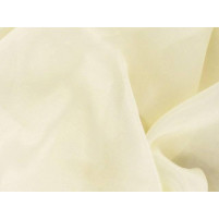 Satin chiffon French vanilla