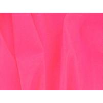 Satin chiffon Pink fizz