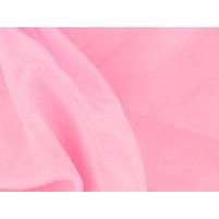 Satin chiffon Sugar pink