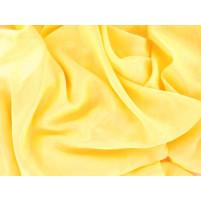 Satin chiffon Sassy yellow