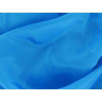 Satin chiffon Turquoise
