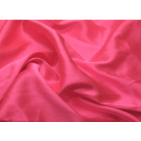 Stretch satin Cerise