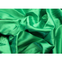 Stretch satin Emeral