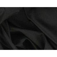 Super stretch satin Black