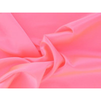 Super stretch satin Flamingo pink