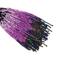 Shaded bugle bead dropper Lilac dream til Volcano