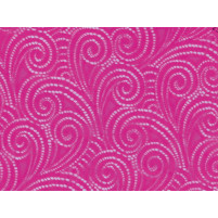 Swirl stræk blonde Electric pink