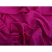 Satin georgette Fuchsia pink