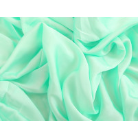 Satin georgette Spearmint