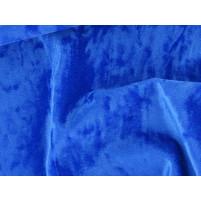 Crushed velvet Dark blue