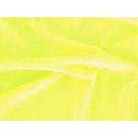 Crushed velvet Fluorescent yellow