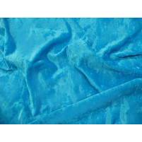 Crushed velvet Turquoise