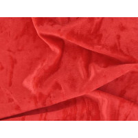 Crushed velvet Red