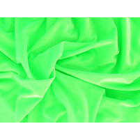 Smooth velvet Fluorescent Green