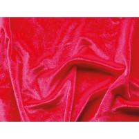 Smooth velvet Fluorescent red