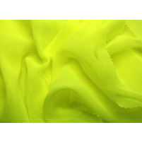 Georgette Tropic lime