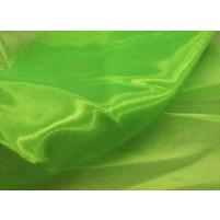 Crystal organza Fluorescent grøn