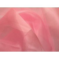 Crystal organza Rose pink
