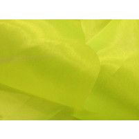 Crystal organza Tropic lime